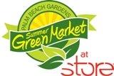 Palm Beach Gardens Summer GreenMarket at STORE logo