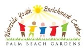 Riverside Youth Enrichment Center logo with children holding hands under the sun