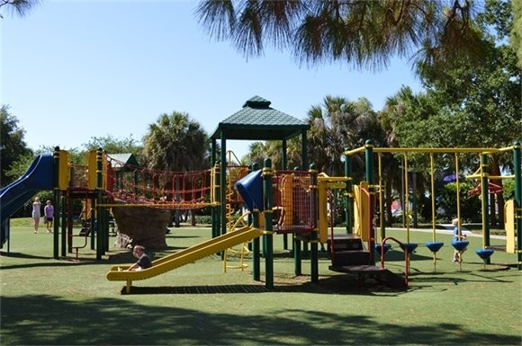 Burns Road Recreation Center Playground
