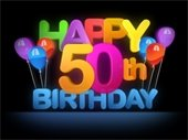 Happy Fiftieth Birthday