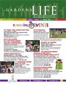 Cover of the March - May 2017 Gardens Life brochure