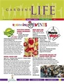 The cover of the June-August Gardens Life brochure