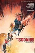 A promotional picture of The Goonies movie